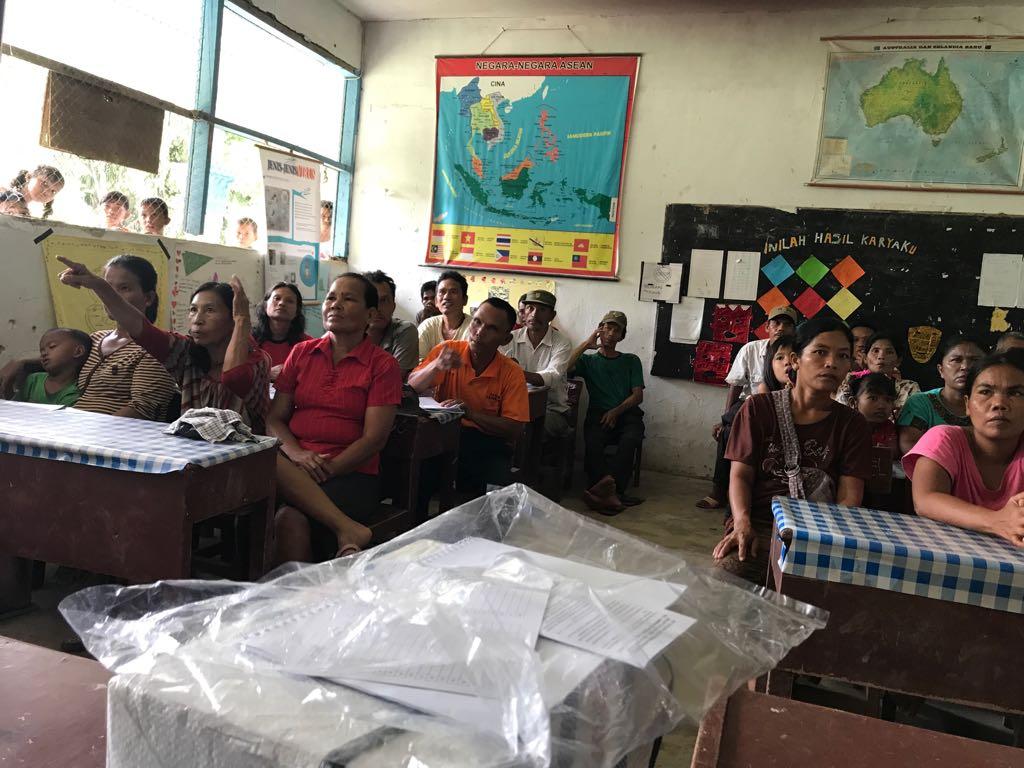 DPP FBBI Sumbangkan 400 Judul Buku ke SD Negeri 106149 Bulu Cina Kecamatan Hamparan Perak Deliserdang